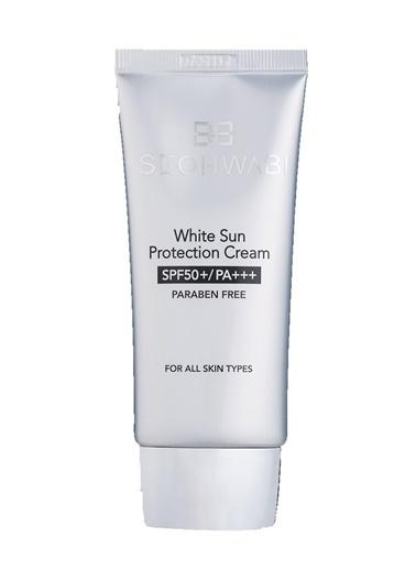 Seohwabi White Sun Protection Cream – Yüz İçin Güneş Kremi  Renksiz